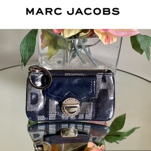 Marc Jacobs Change Purse Wallet Small Coin Key